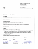 Extrastämma 2018 – Protokoll